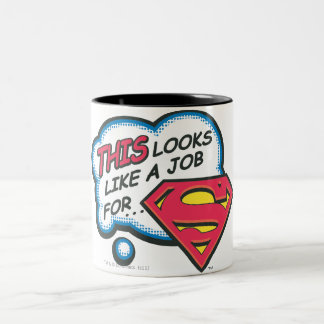 Superman 74 mug bicolore