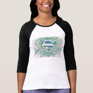 Superman a stylisé des ailes de | et le logo nommé t-shirt