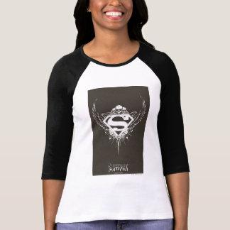 Superman a stylisé le logo d'arrière - plan de | t-shirt