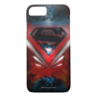 Superman a stylisé le logo futuriste de | coque iPhone 8/7