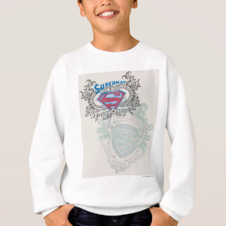 Superman a stylisé | logo de conception de deux sweatshirt