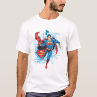 Superman avec le logo t-shirt