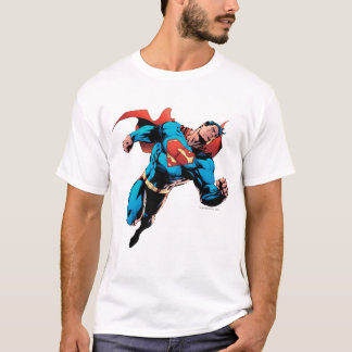 Superman dans le costume t-shirt
