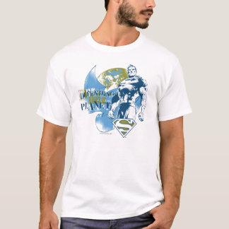 Superman   défendant la planète t-shirt