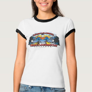 Superman - deux trains t-shirt