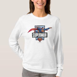 Superman et logo encadrés t-shirt