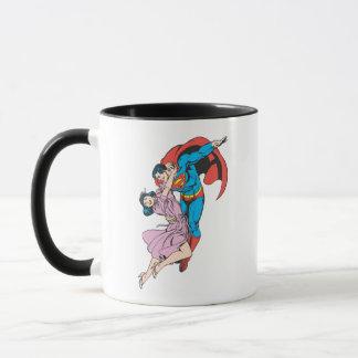 Superman et Lois dans le rose Mug