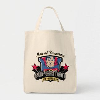 Superman - homme de demain sac en toile épicerie