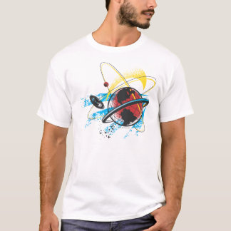 Superman - orbite de planète t-shirt
