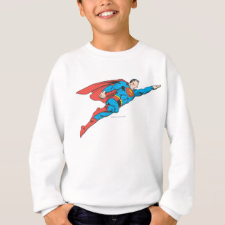 Superman volant juste sweatshirt