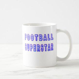 Superstar du football mug