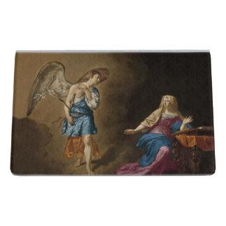 Support Carte De Visite Ange et Mary d'annonce