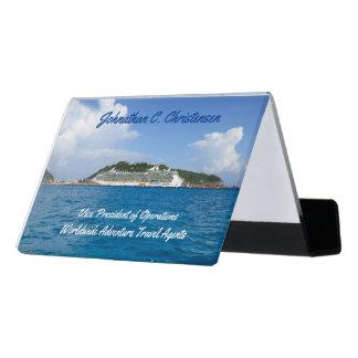 Support Carte De Visite Liberté dans la coutume de St Maarten