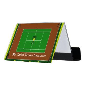 Support Carte De Visite Tennis