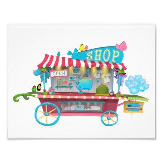 Support de magasin de Whiny de Whiny Tirage Photo