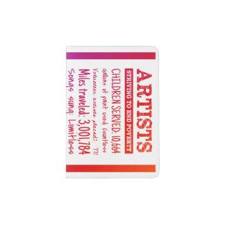 Support de passeport d'ASTEP Protège-passeports