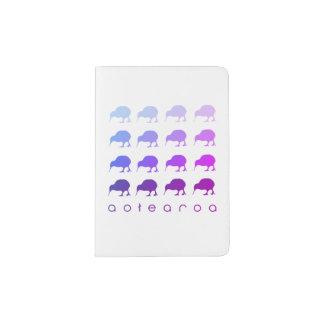 """Support de passeport de """"Aotearoa"""" d'oiseau de Protège-passeports"""