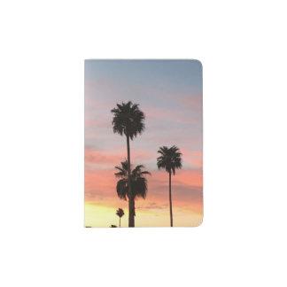 Support de passeport de coucher du soleil de protège-passeports