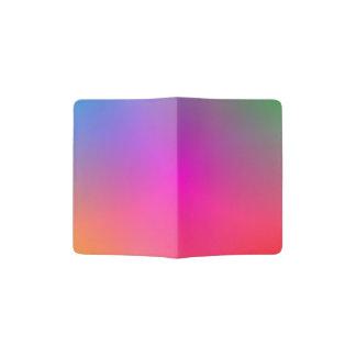Support de passeport du mélange 1 de couleur protège-passeports
