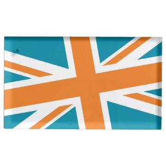 Support de Placecard de drapeau des syndicats Porte-photo