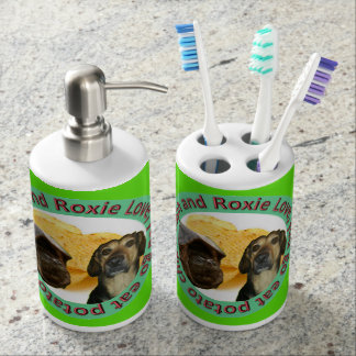 Support et savon Dispencer de brosse à dents de Accessoire De Salle De Bains