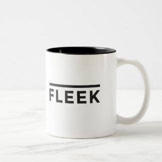 Sur la tasse de graphique de Fleek