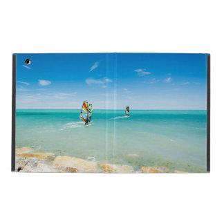 Surfer dans le bleu protection iPad