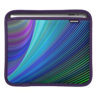 Surfer dans une vague magique housse iPad