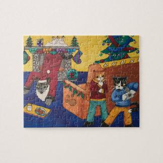 Surprise de Père Noël Puzzle