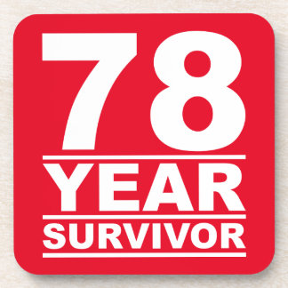 survivant de 78 ans sous-bocks