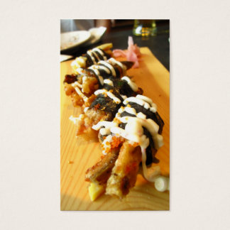 Sushi - carte de profil