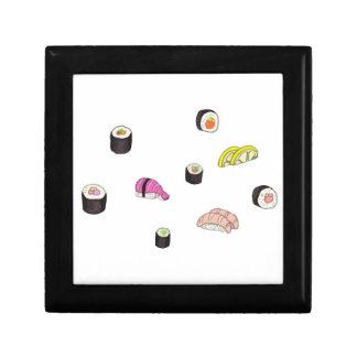 Sushi et sashimi boîte à souvenirs