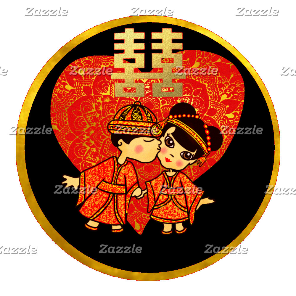 Chinese Wedding - Cute couple