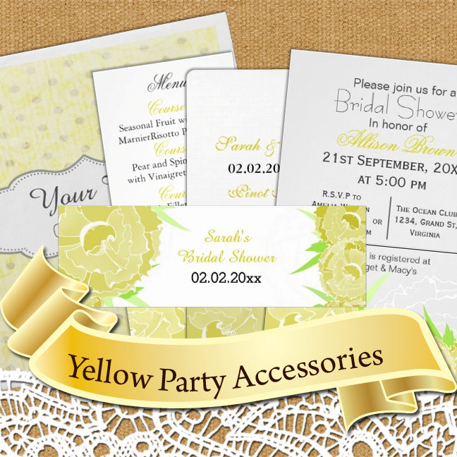 Yellow Theme Party