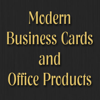 Modern Business Cards and Office Products