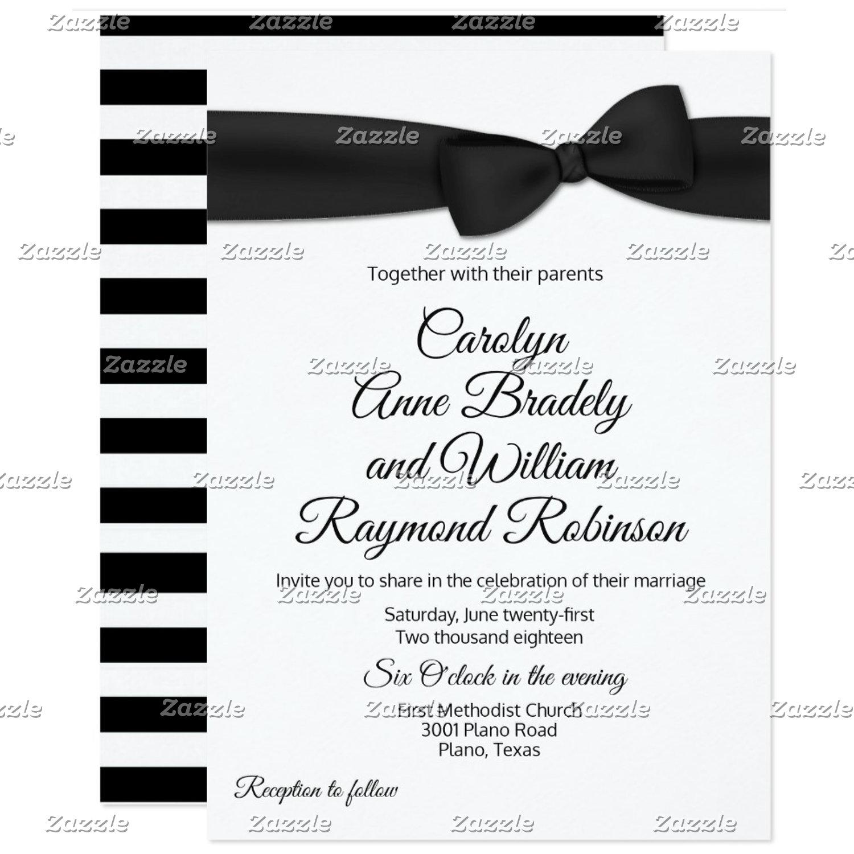 Tuxedo Bow Tie Wedding Set