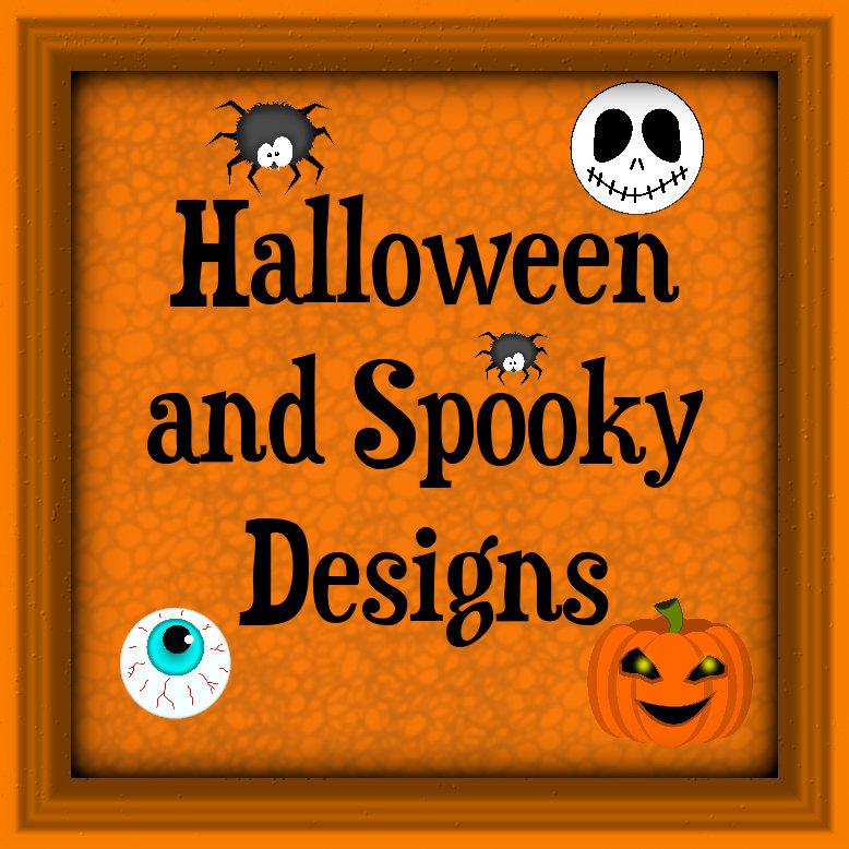 Halloween, Spooky Designs