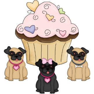 Cupcake Sweet Pug Dogs