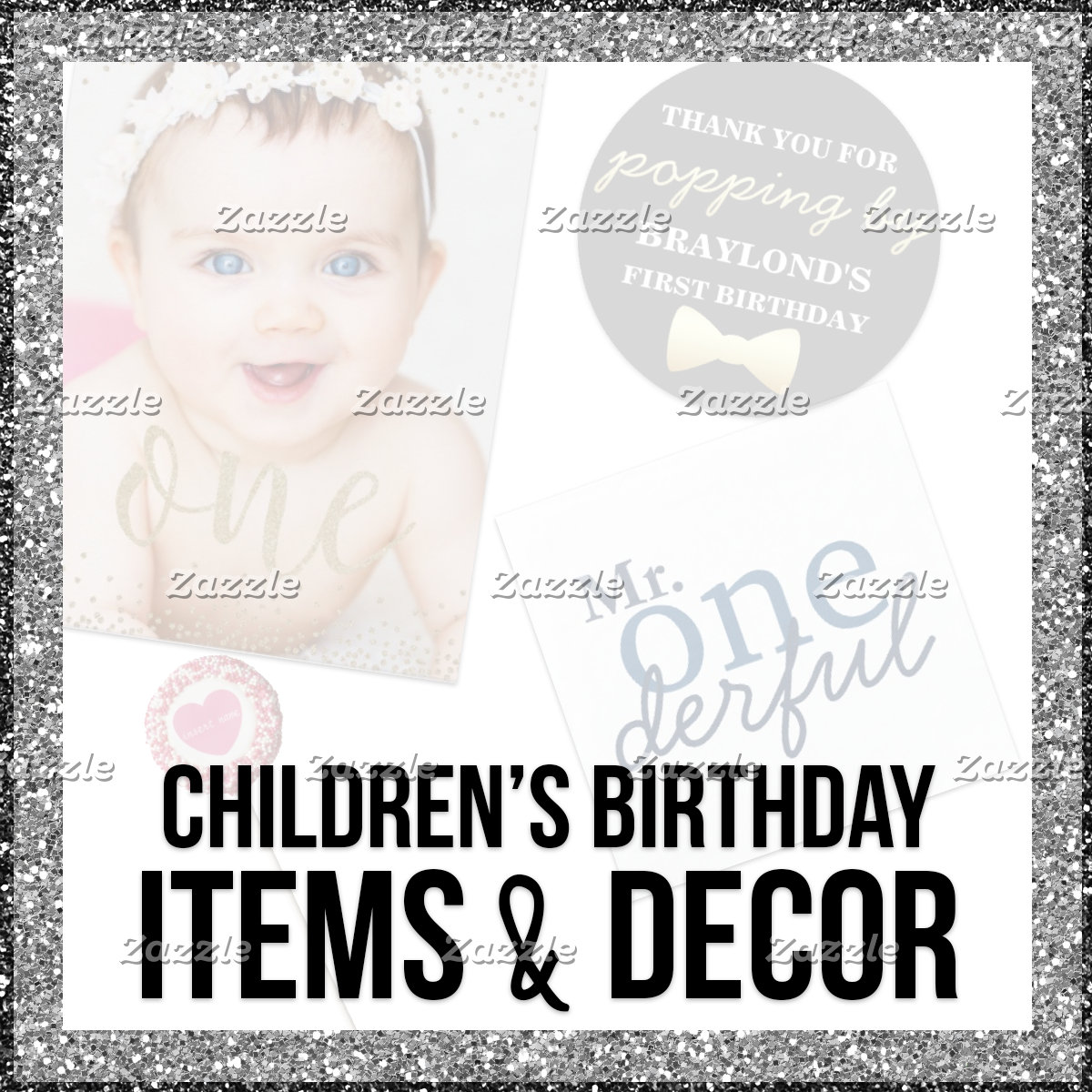 Children's Birthday Items & Decor