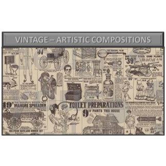 Vintage - artistic compositions