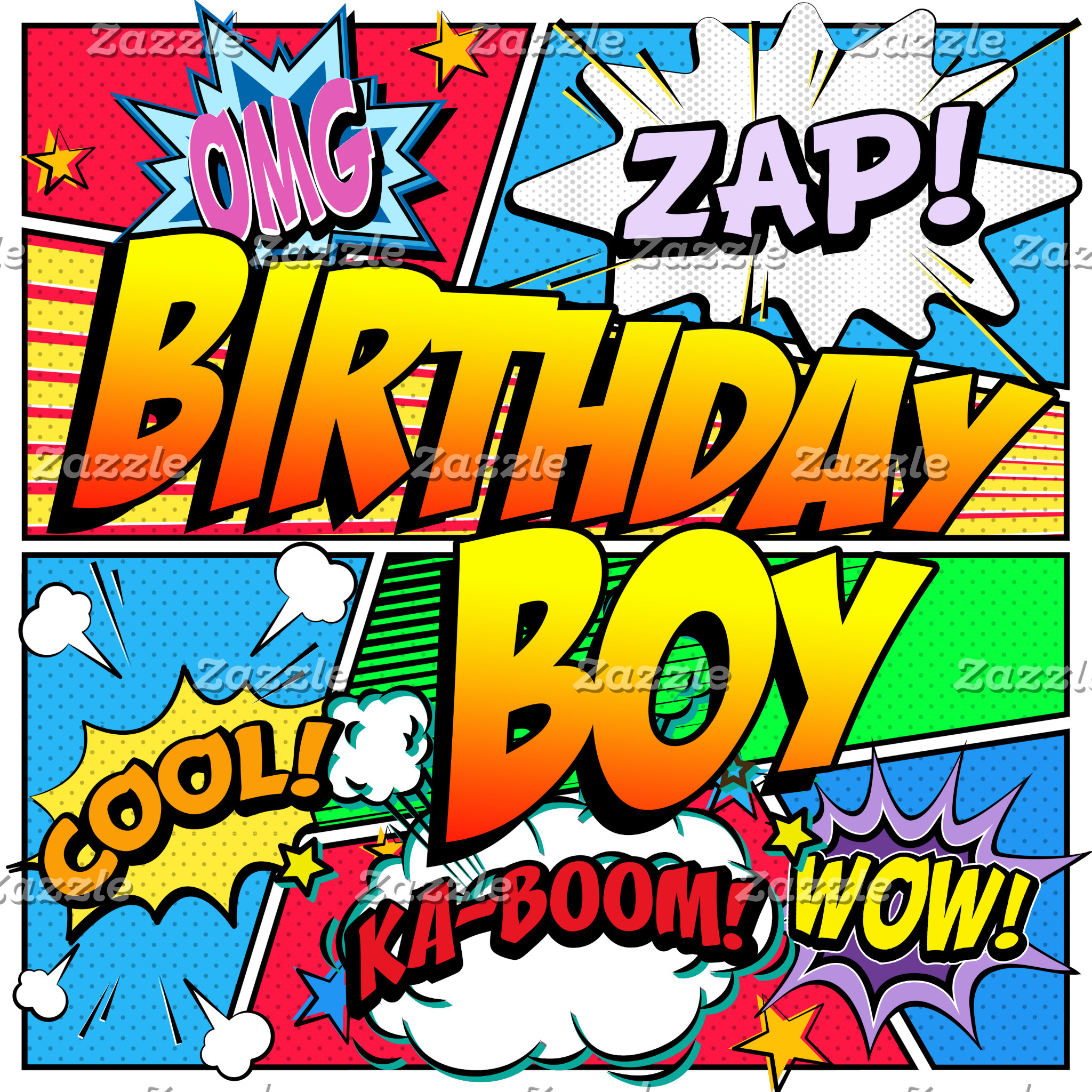 Birthday Boy Comic Book