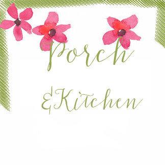 Porch & Kitchen