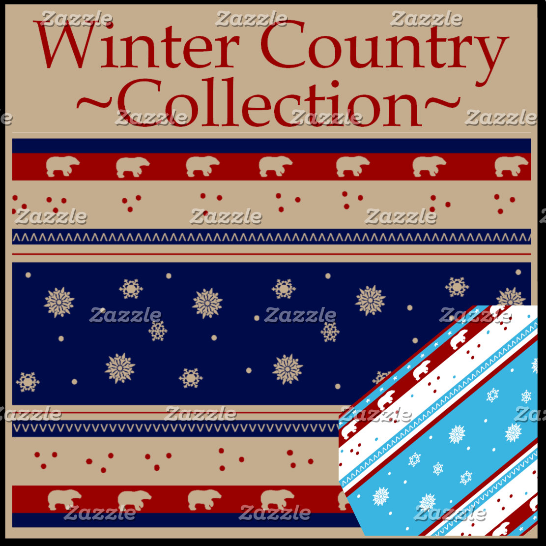 Rustic Country Winter