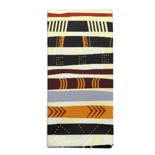 African Pattern and Print Napkins
