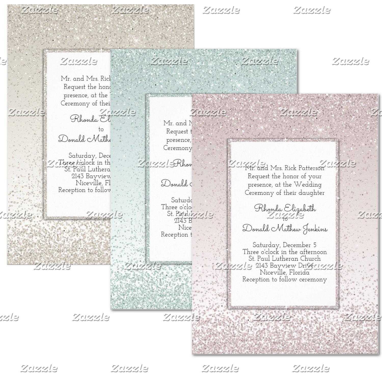 Glitter and Shine Wedding Sets