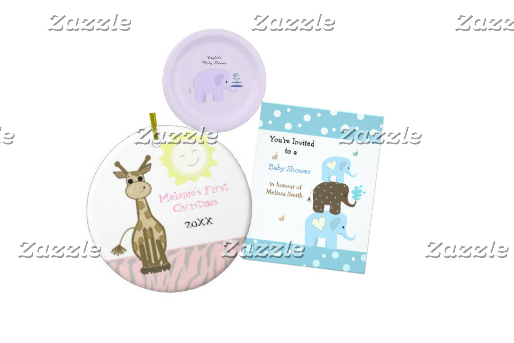 Baby Showers And Whimsical  Designs