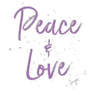 PEACE & LOVE ☮️ 💟