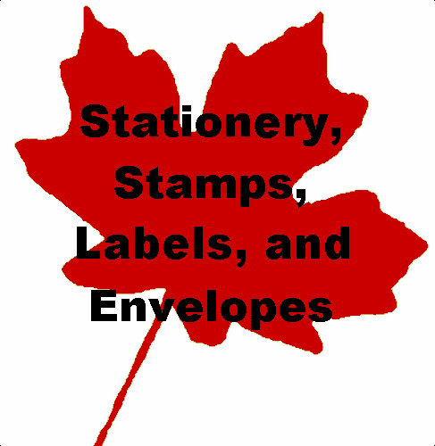Stationery, Stamps, Envelopes, and Labels