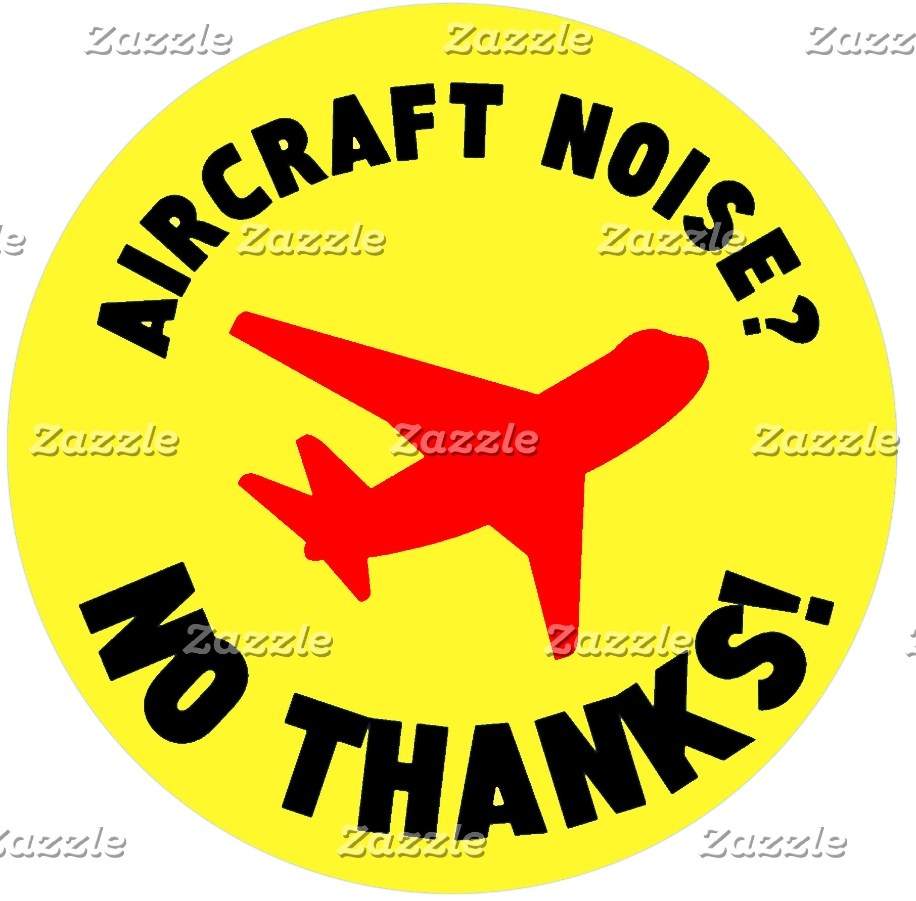 Aircraft noise? No thanks!