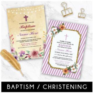 Christening Baptism